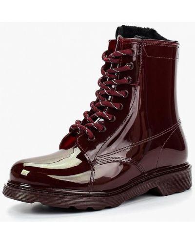 Ботинки на каблуке осенние Keddo