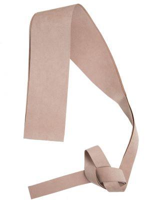 Różowy pasek materiałowy Deni Cler Milano