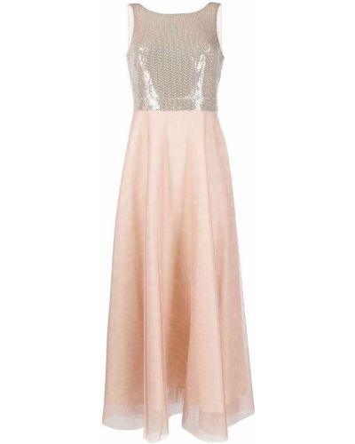 Вечернее платье с пайетками без рукавов с вырезом D.exterior