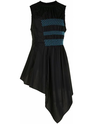 Bluzka asymetryczna - czarna Enfold