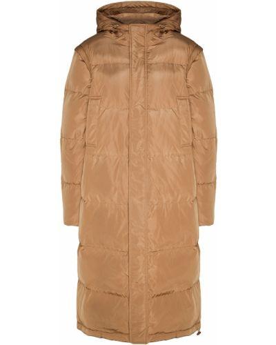 Куртка с капюшоном с карманами пуховый Ganni