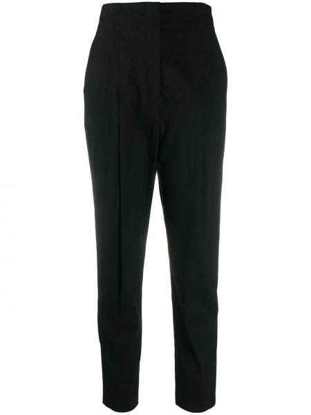 Зауженные брюки - черные Alc