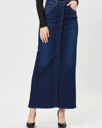 Джинсовая юбка синяя турецкий D'she