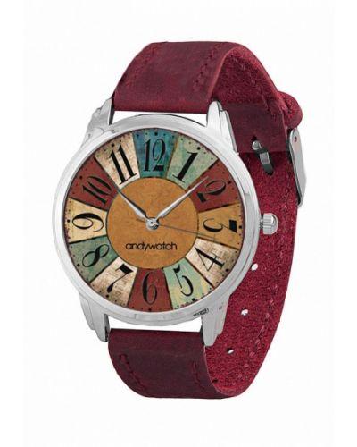 Часы бордовый весенний Andywatch