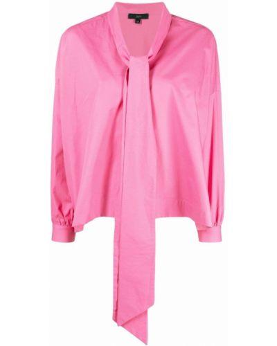 Розовая блузка свободного кроя на пуговицах Jejia