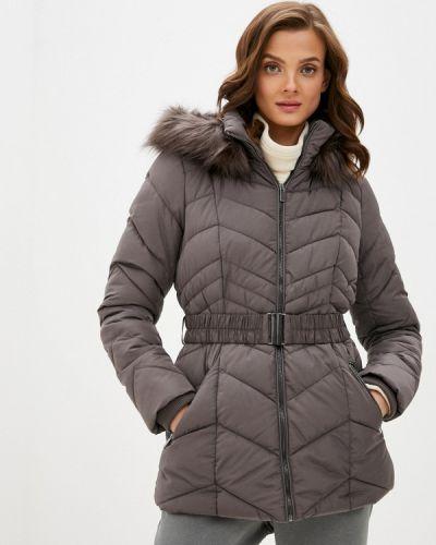 Коричневая утепленная куртка Wallis