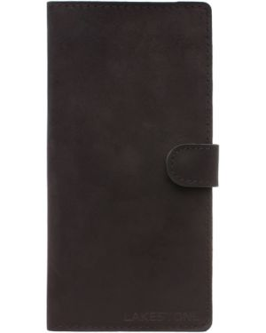 Клатч кожаный на молнии Lakestone