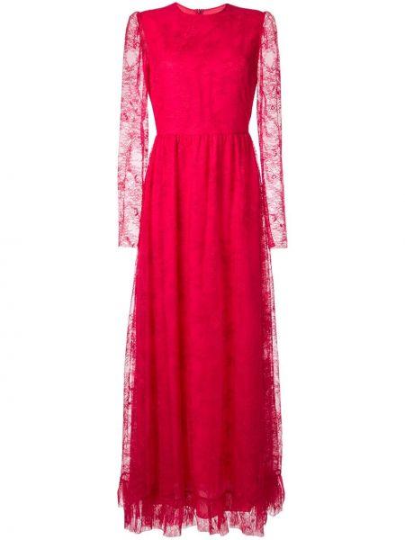 Вечернее платье на молнии с вырезом Philosophy Di Lorenzo Serafini