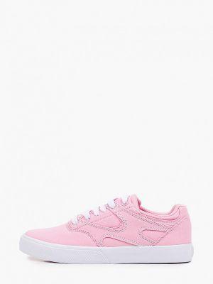 Текстильные кеды - розовые Dc Shoes