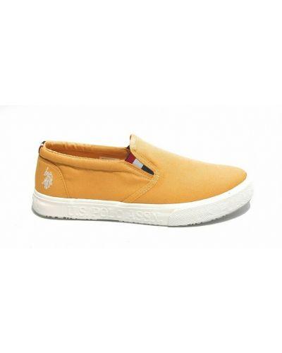 Trampki - żółte U.s. Polo