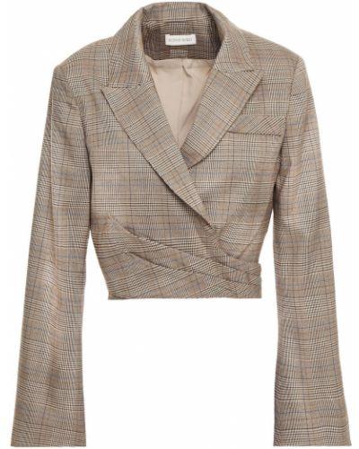Пиджак твидовый с подкладкой на крючках Ronny Kobo