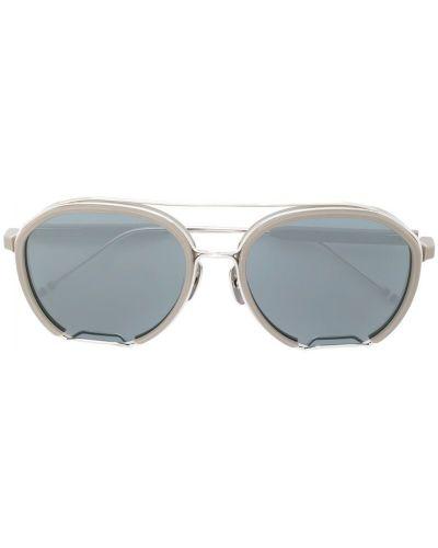 Солнцезащитные очки авиаторы Thom Browne