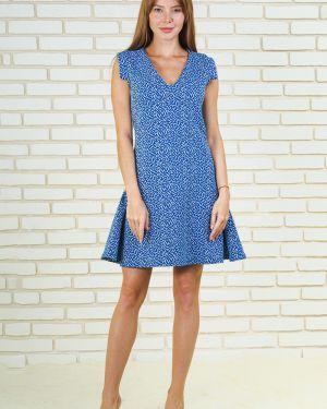 Платье в рубчик с V-образным вырезом Lika Dress