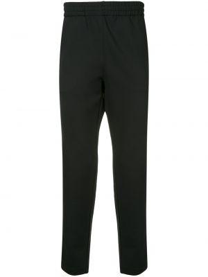 Черные спортивные брюки с поясом Makavelic