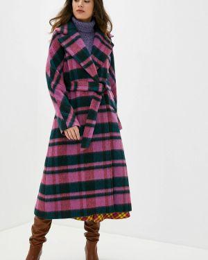 Розовое пальто с капюшоном Beatrice.b