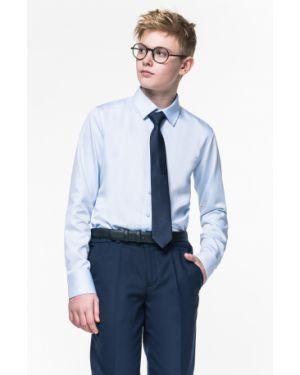 Хлопковая прямая школьная рубашка на кнопках Orby