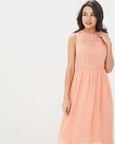 Платье коралловый красный Warehouse