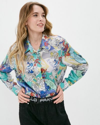 С рукавами блузка Franco Vello