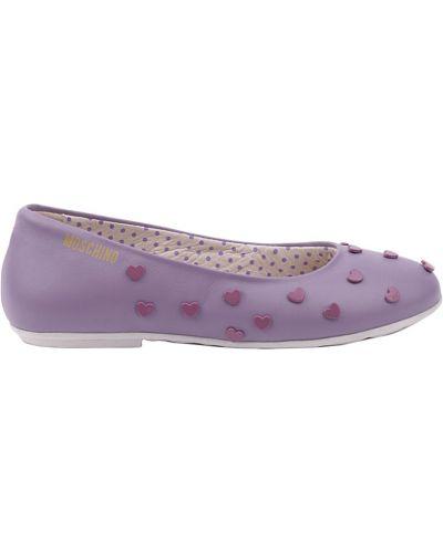 Фиолетовые туфли Moschino