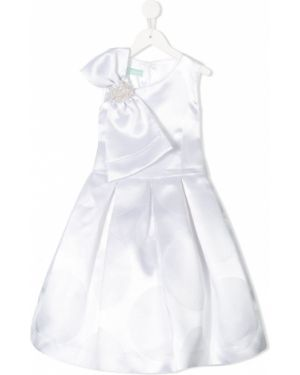 Приталенное платье с рукавами на торжество Valmax Kids