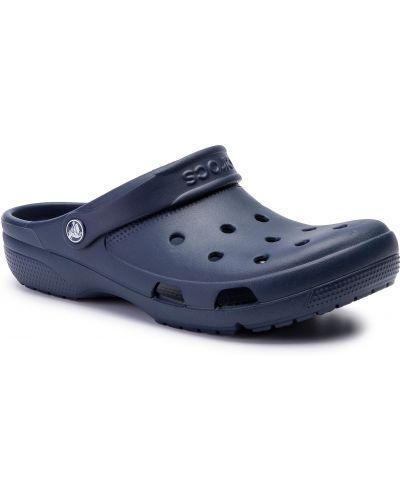 Sandały czerwony niebieski Crocs