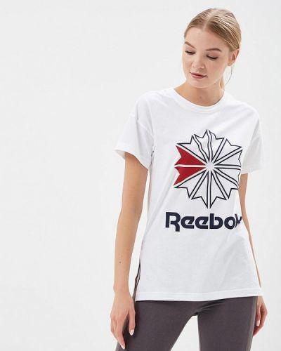 Белая футболка индийская Reebok Classics