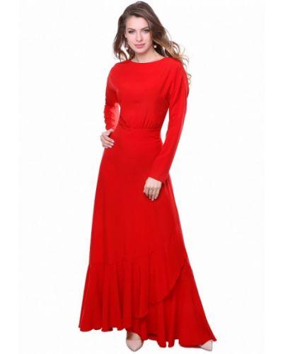 Красное платье весеннее Olivegrey