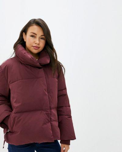 Зимняя куртка осенняя бордовый Befree