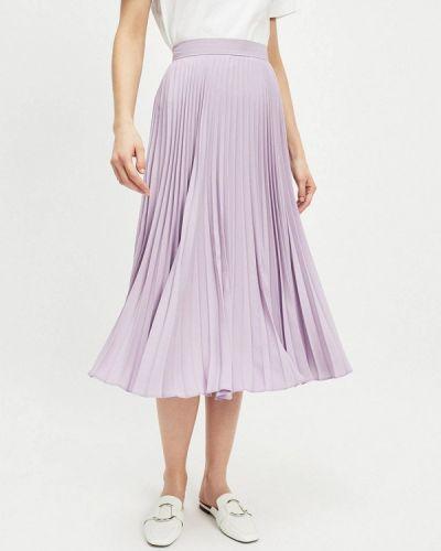 Плиссированная юбка фиолетовый Miss Selfridge