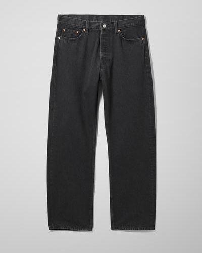 Черные джинсовые джинсы Weekday
