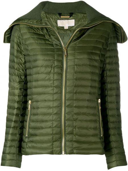Длинная куртка зеленая с карманами Michael Michael Kors