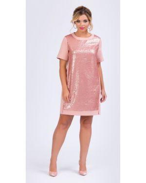 Вечернее платье мини с пайетками тм леди агата