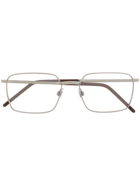 Srebro oprawka do okularów metal plac Dolce & Gabbana Eyewear