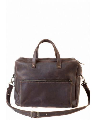 Коричневая сумка через плечо Incarne