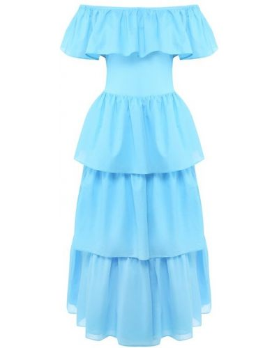 Хлопковое платье - бирюзовое Natayakim