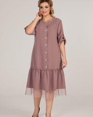 Платье свободного кроя марита