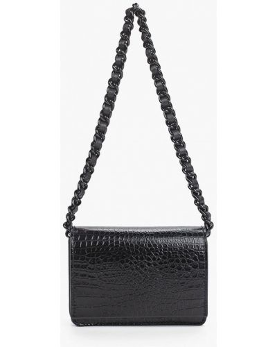 Кожаная сумка через плечо - черная Gianni Chiarini