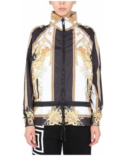 Czarna kurtka Versace