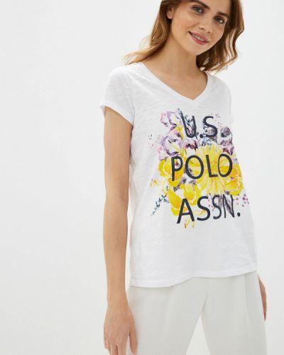 Футболка белая турецкий U.s. Polo Assn.