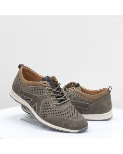 Кожаные туфли - зеленые Stylen Gard