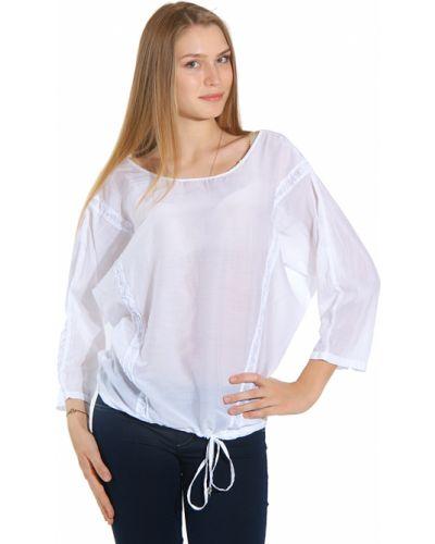 Блузка хлопковая шелковая Gas