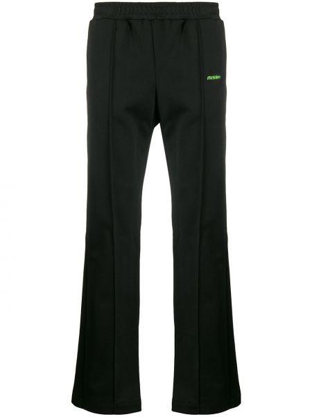 Czarne spodnie bawełniane Misbhv