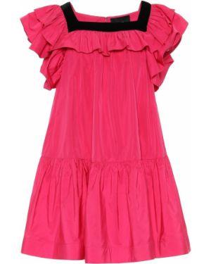 Розовое платье мини Marc Jacobs