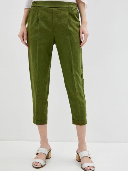 Брюки зеленый повседневные United Colors Of Benetton