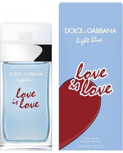 Синяя туалетная вода Dolce & Gabbana