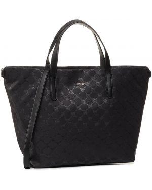 Czarna torebka z nylonu Joop!