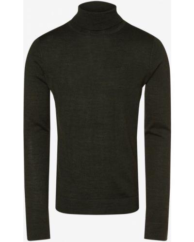 Zielony sweter na co dzień Lindbergh