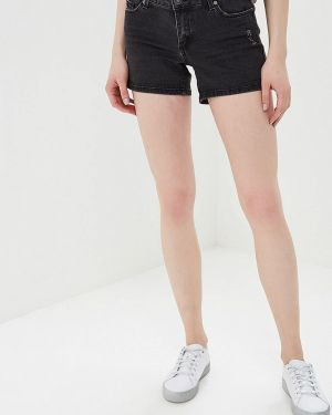 Джинсовые шорты черные Ostin