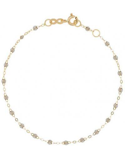 Сиреневый золотой браслет с бисером Gigi Clozeau