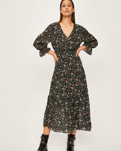 Платье миди с запахом повседневное Answear